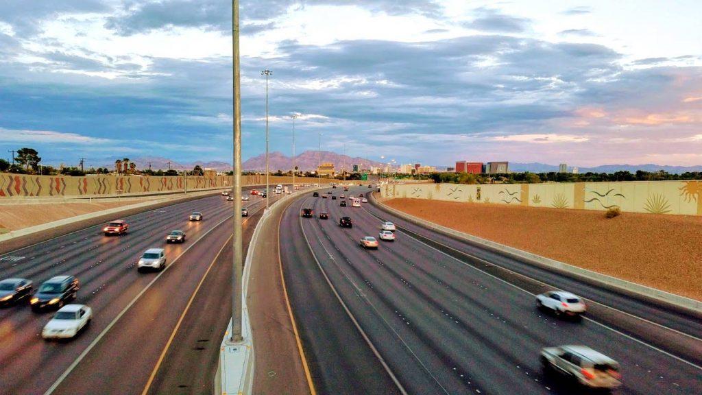 Autostrada w Las Vegas