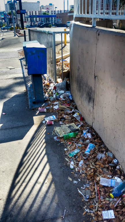 Śmieci w Las Vegas