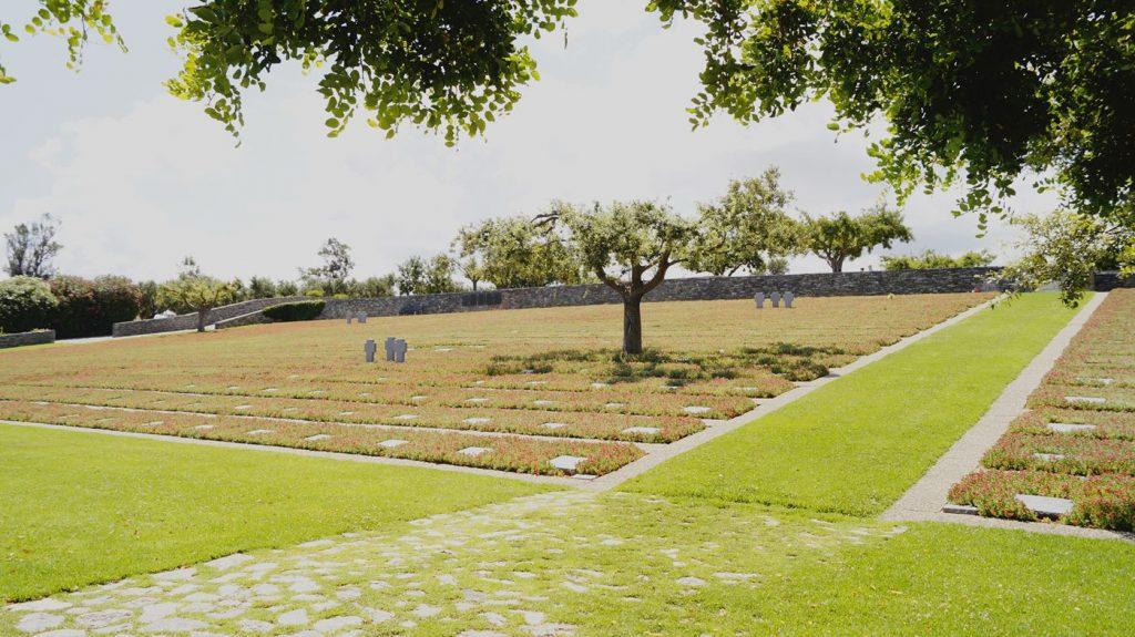 Cmentarz wojenny na Krecie