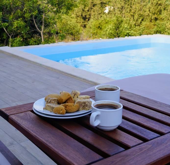 Grecka chałwa i kawa