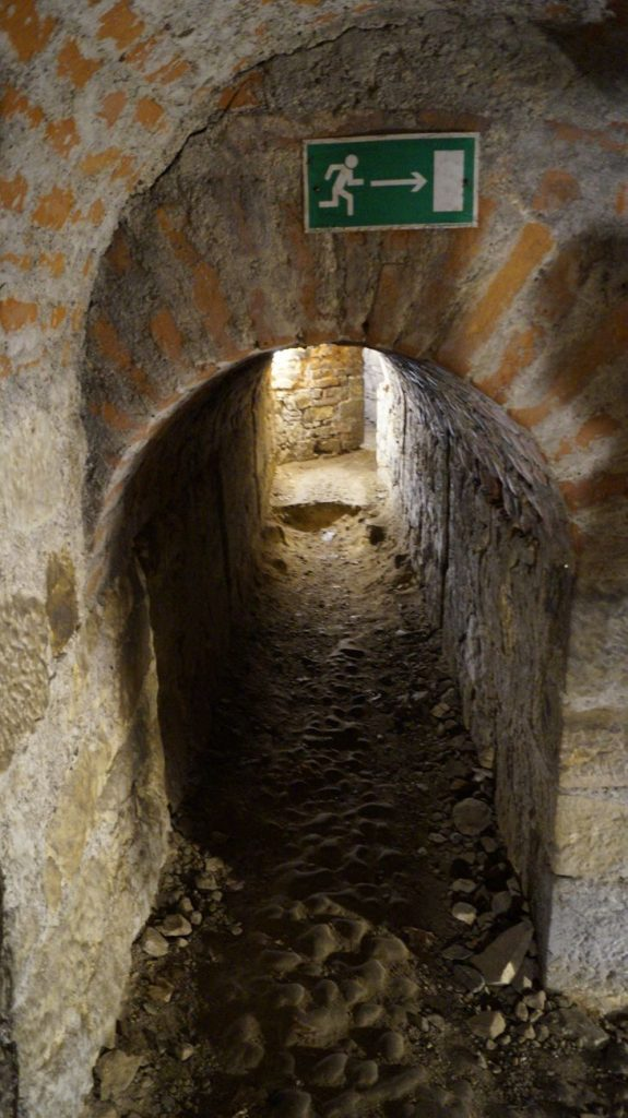Tunele w Twierdzy Kłodzko