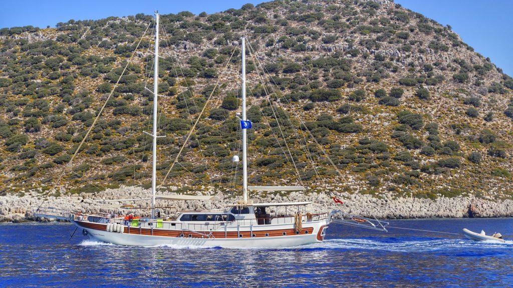wycieczka statkiem w Turcji