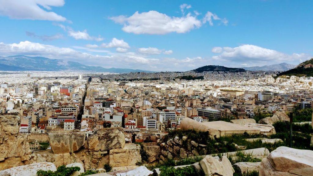 Pogoda w Atenach w grudniu