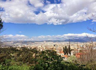 pogoda w Atenach w kwietniu