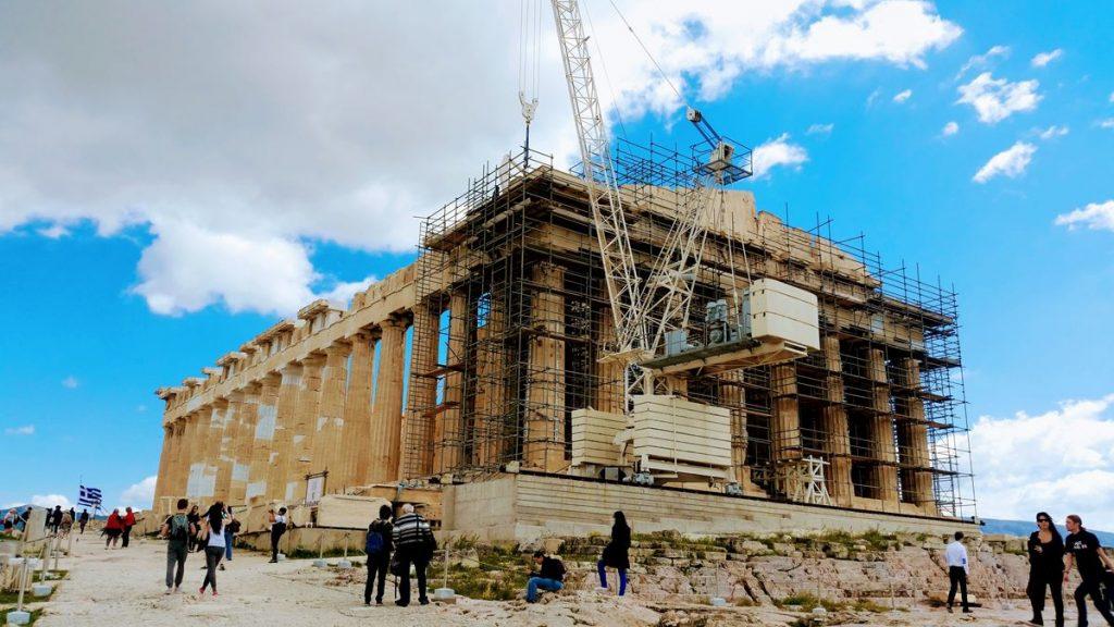 Pogoda w Atenach w listopadzie