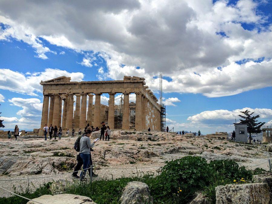 Pogoda w Atenach w lutym