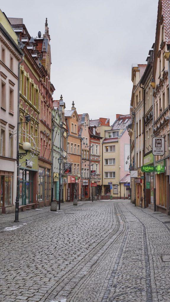 Jelenia Góra Ulica Marii Konopnickiej