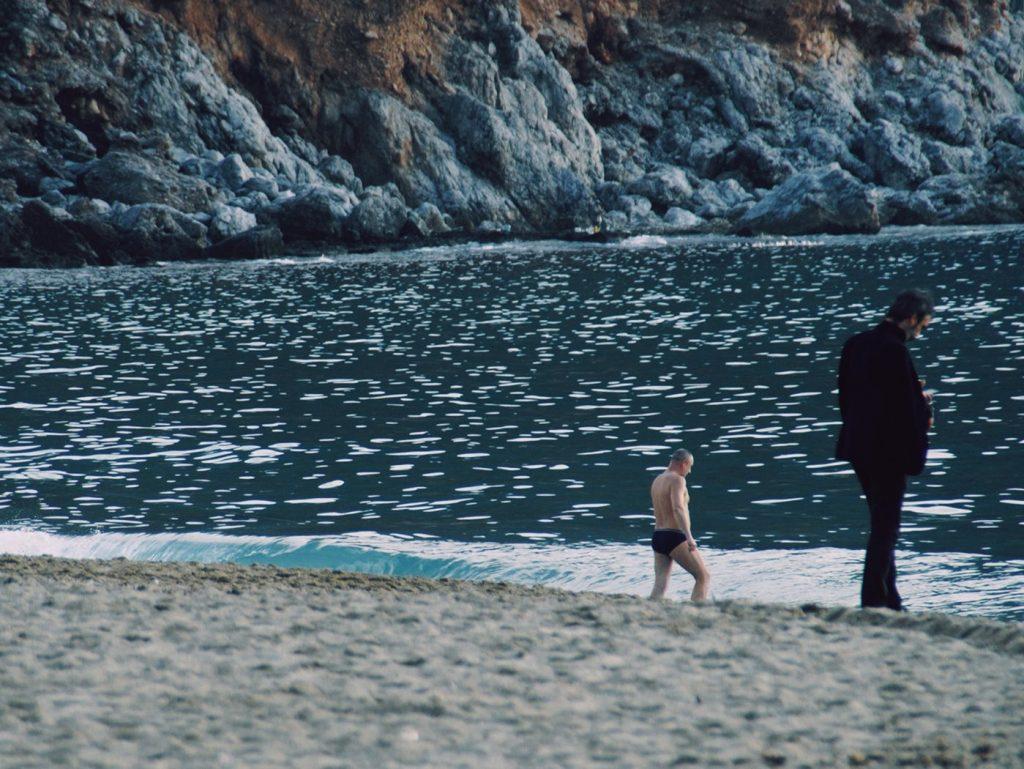 kąpiele w morzu w zimie