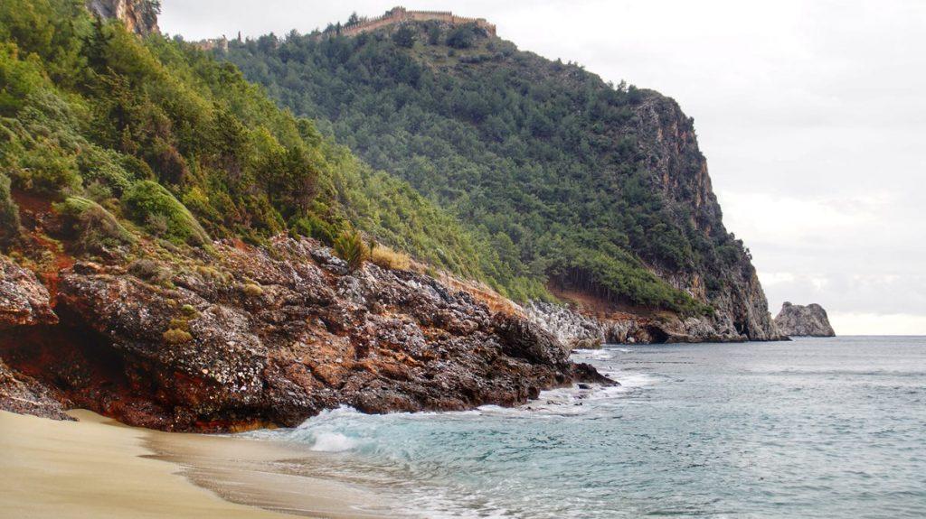 Plaże Alanyi: plaża Damlataş