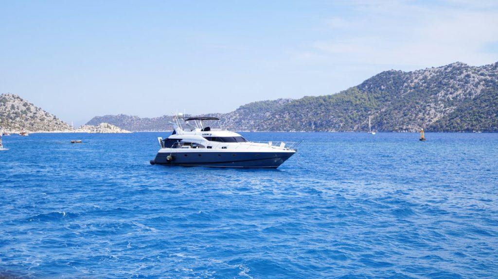 jacht w turcji