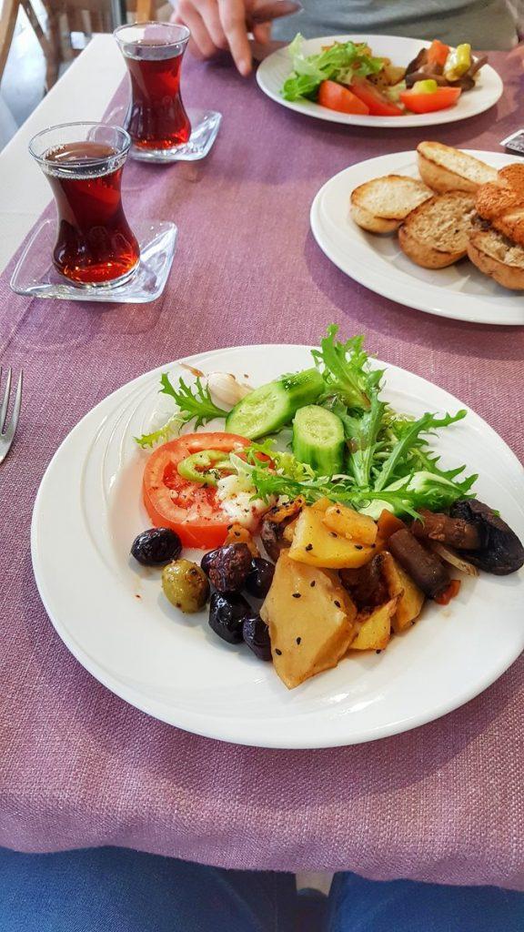 jedzenie w turcji hotel
