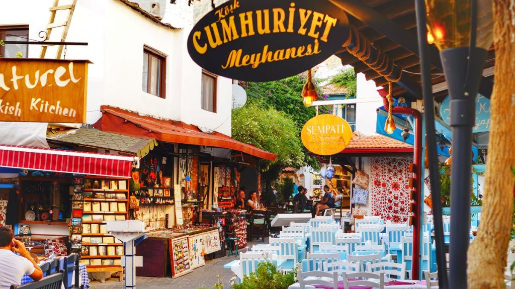 knajpki w turcji