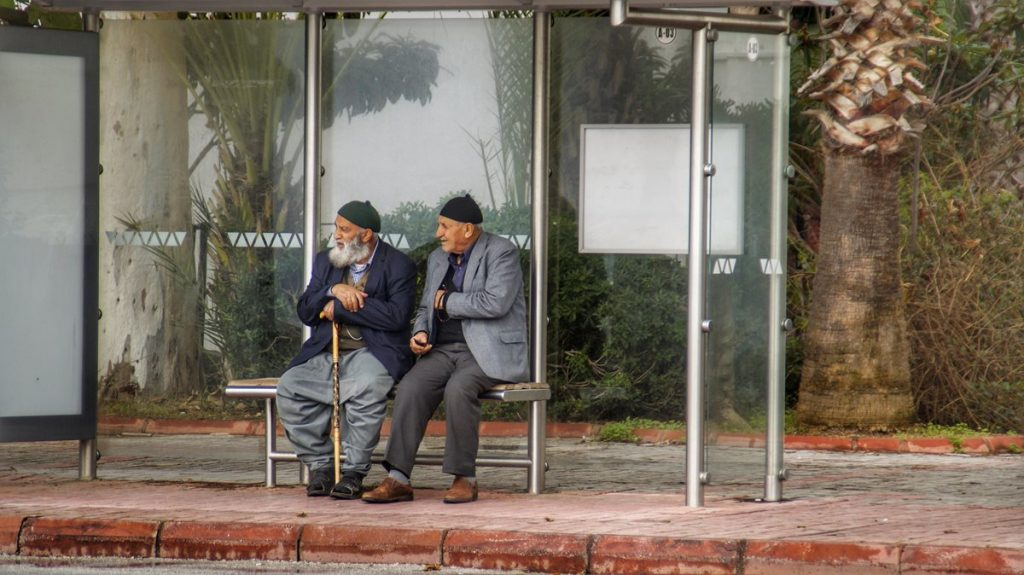 turcja przystanek autobusowy