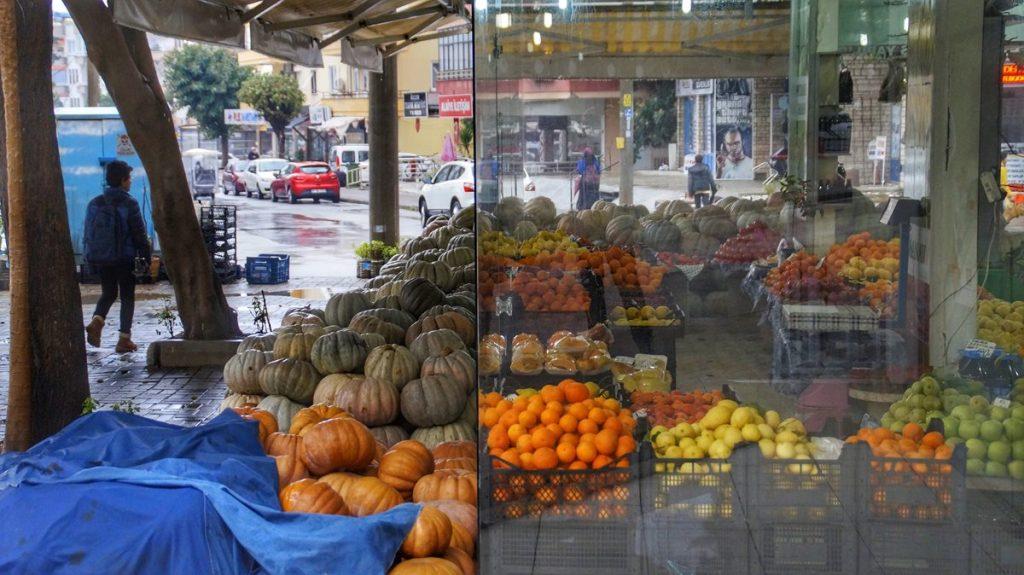 warzywniak w Turcji