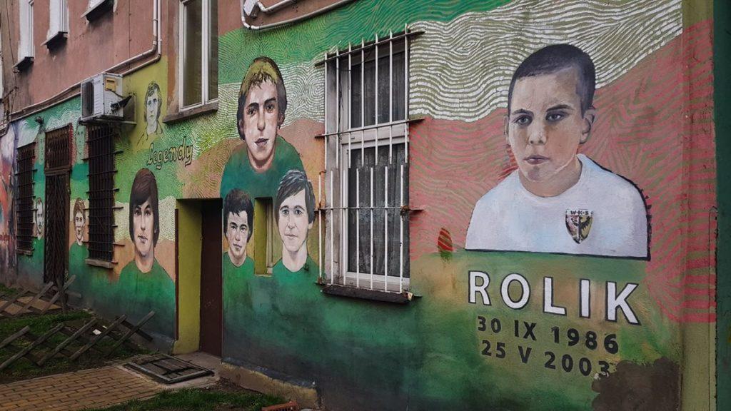 kolorowe podwórko Wrocław
