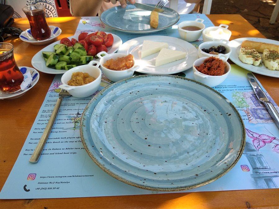 tureckie śniadanie