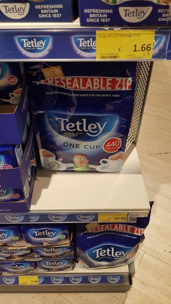 cena herbaty na Malcie