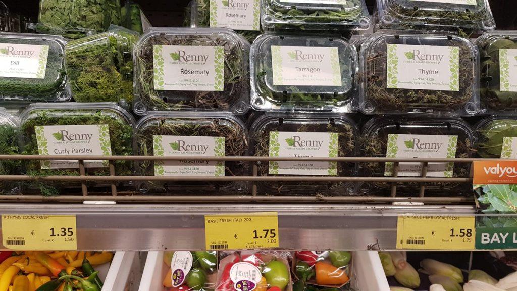 ceny na Malcie zioła