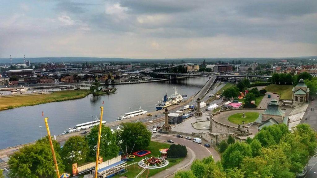 Szczecin krajobraz