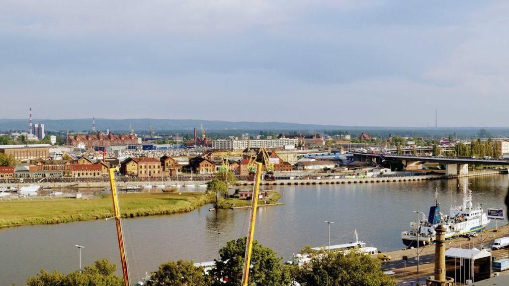 krajobraz Szczecin