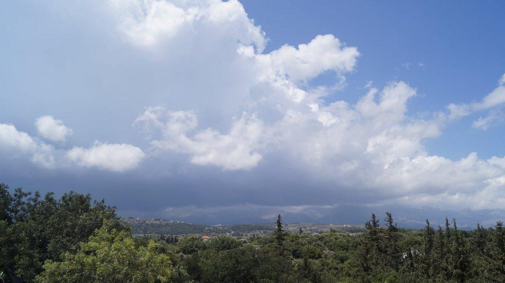 Pogoda na Santorini w marcu