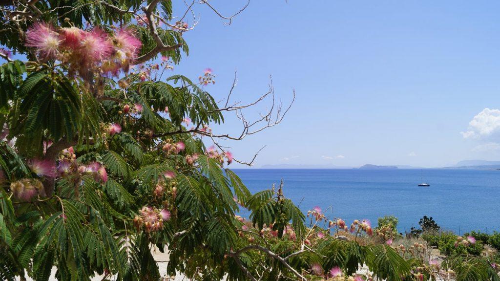 Pogoda na Santorini w sierpniu