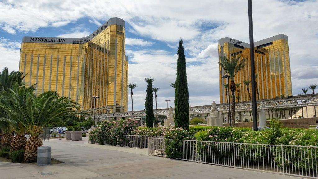 Las Vegas atrakcje - mandala bay hotel