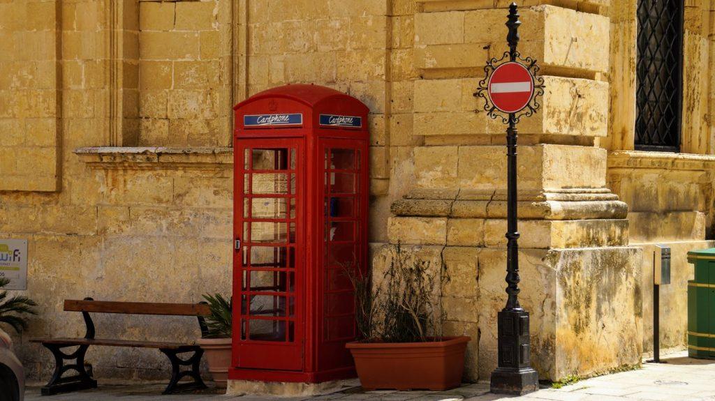 Malta po agnielsku