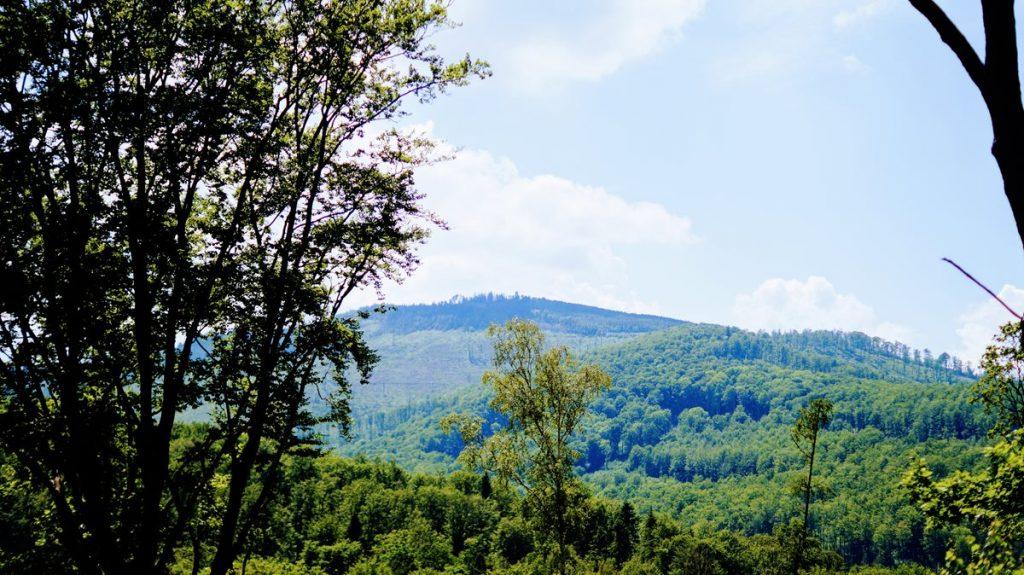 góry opawskie krajobraz