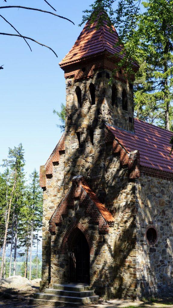 kaplica św Anny góry Opawskie