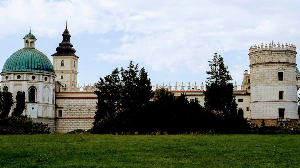 krasiczyn zamek - atrakcje Podkarpacia