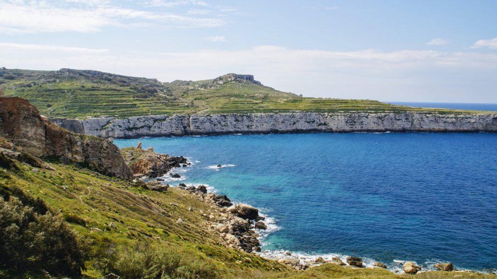 cudowne klify na Malcie