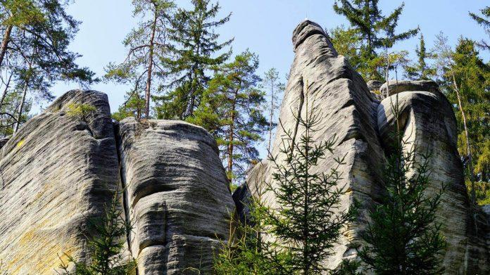 Ardspach - skalne miasto