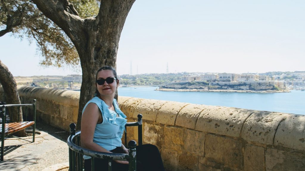 Ogrody Barrakka w Valletcie