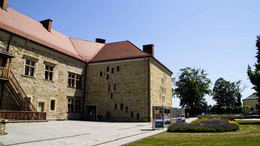 zamek w sanoku