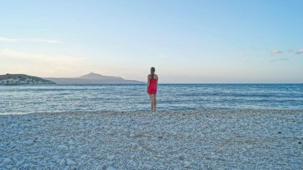 Almyrda-Kreta plaża