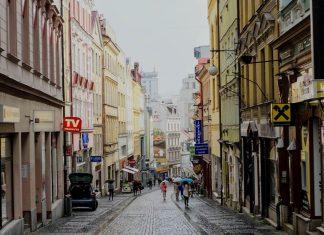 liberec- krajobraz miejski