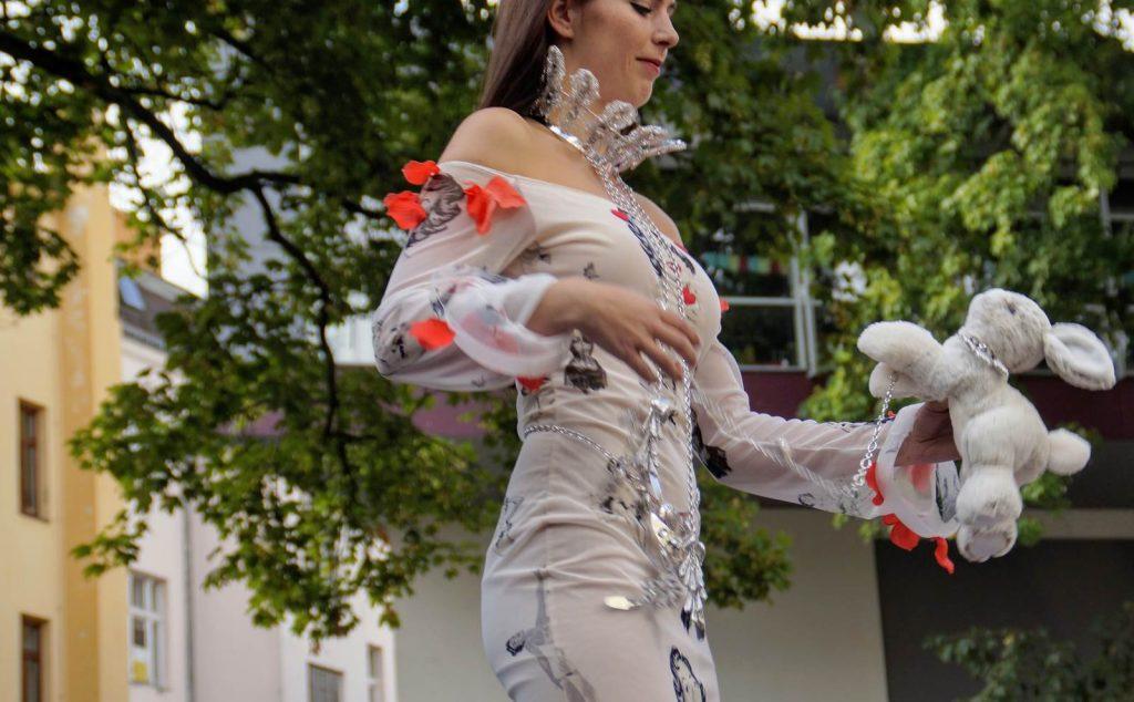 pokaz mody i szkła Jablonec nad Nysą