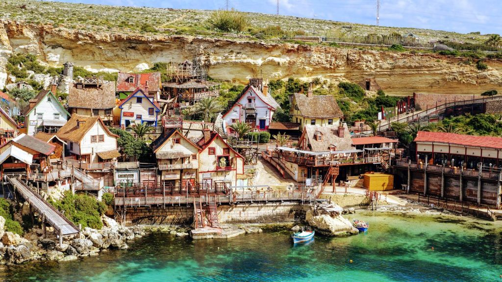 popeye atrakcja wyspy MAlta