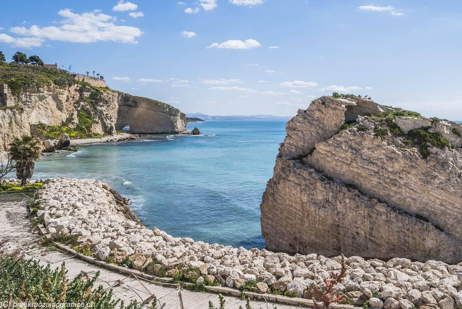 Cudowny krajobraz Sycylii