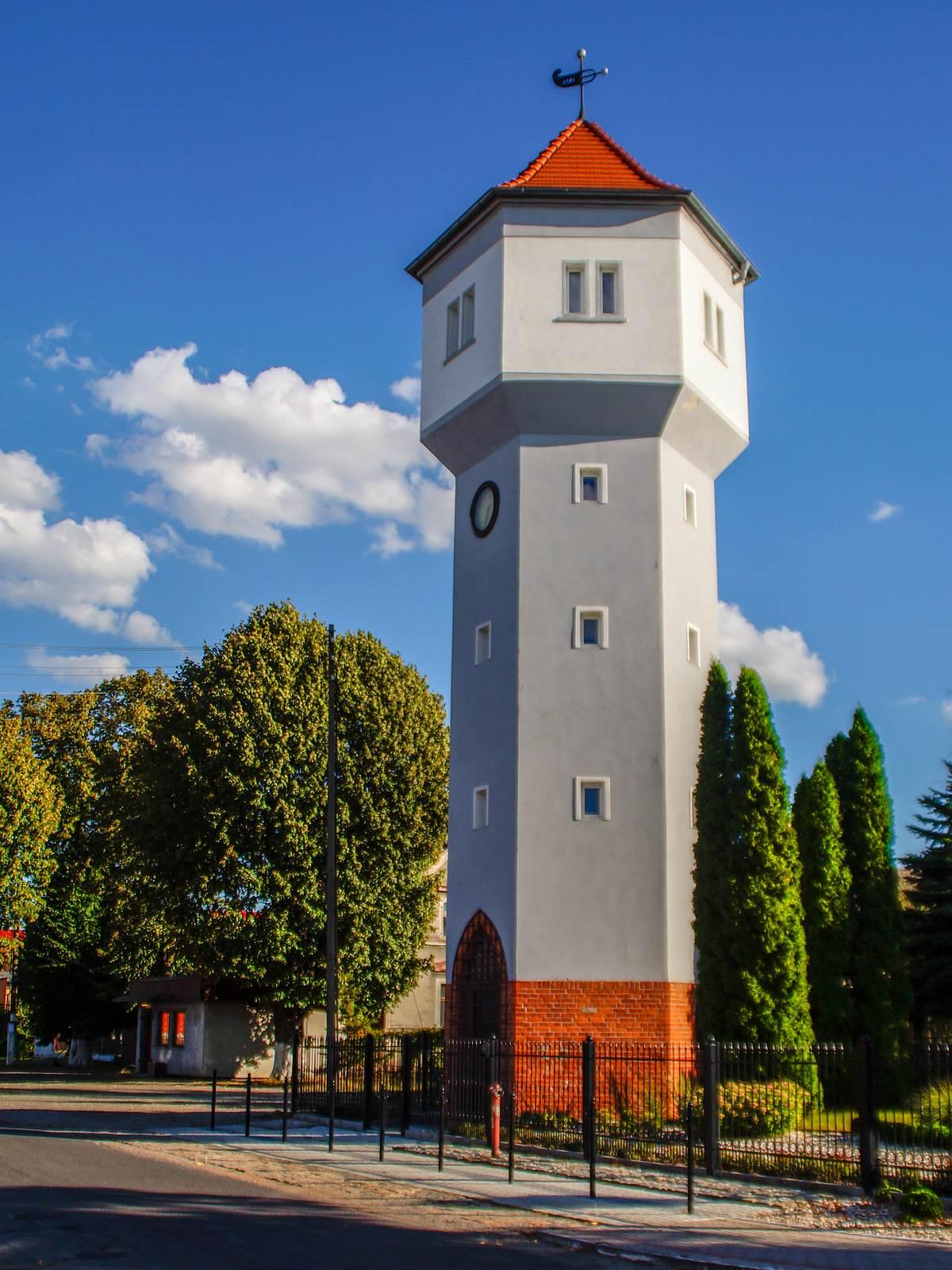 Wieża ciśnień w Olszance