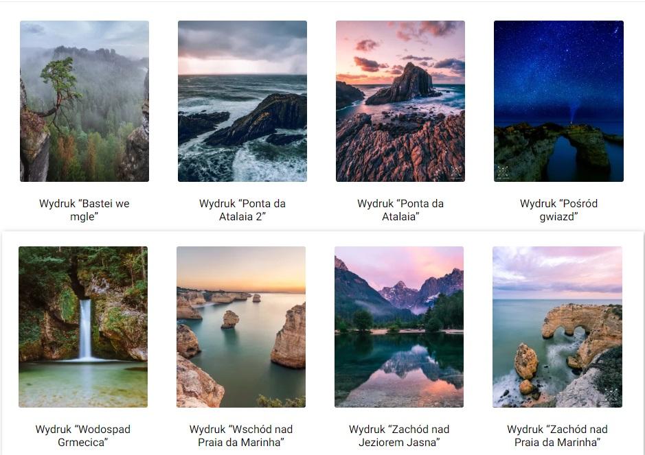 prezent dla podróżnika- fotowydruki z pieknych miejsc