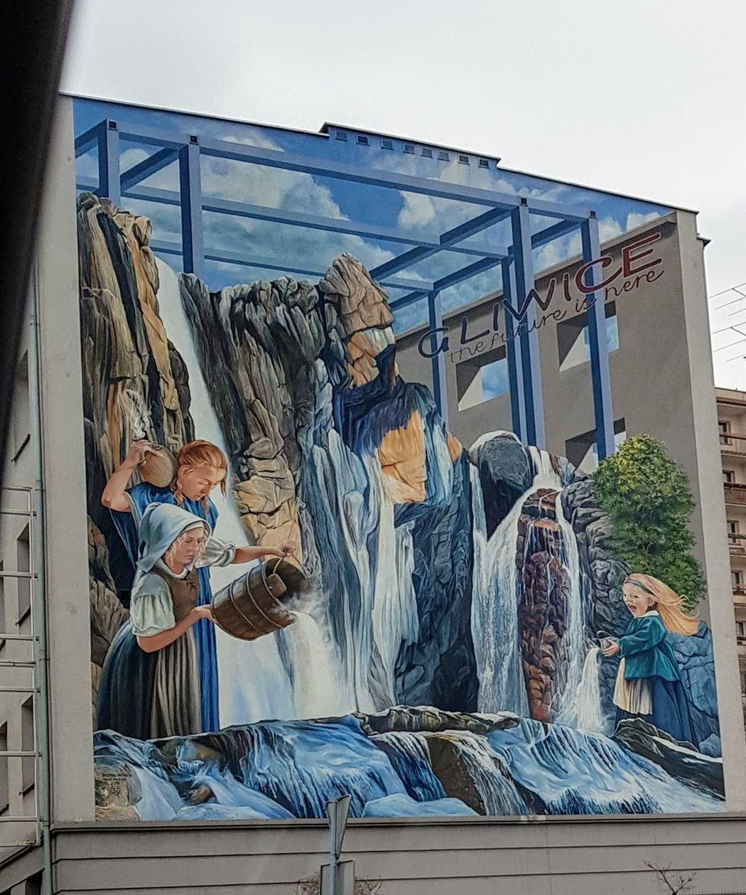 murale w Gliwicach
