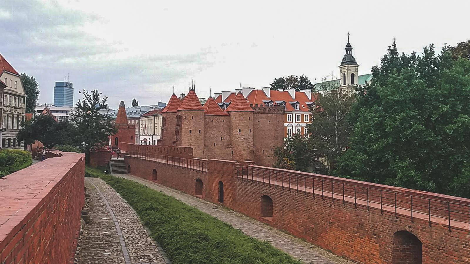 Barbakan w Warszawie