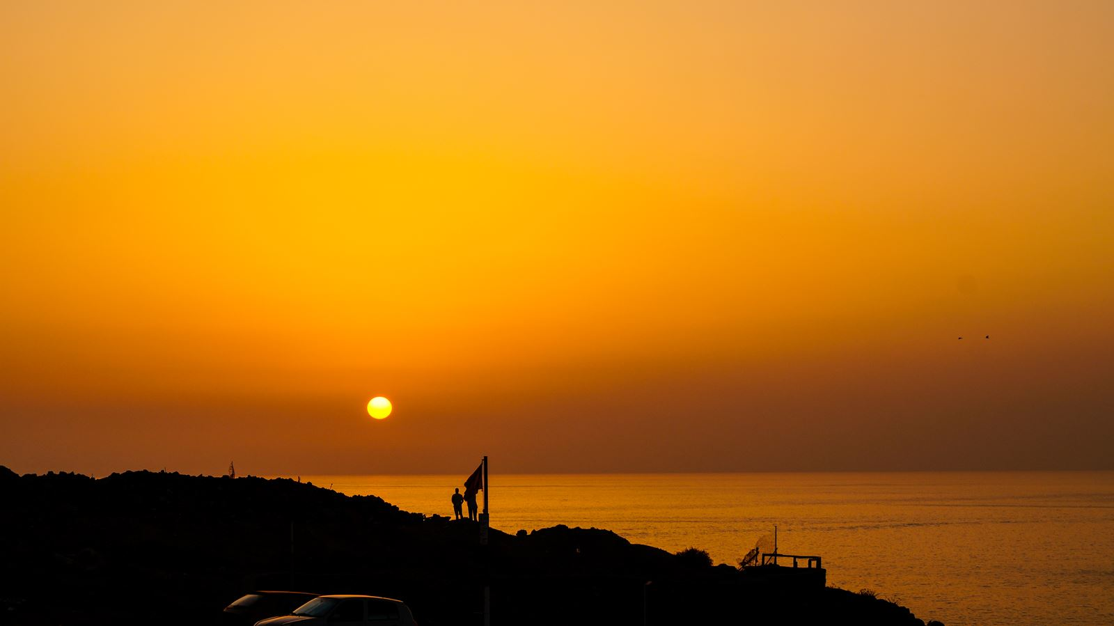 zachód słońca na Gran Canarii