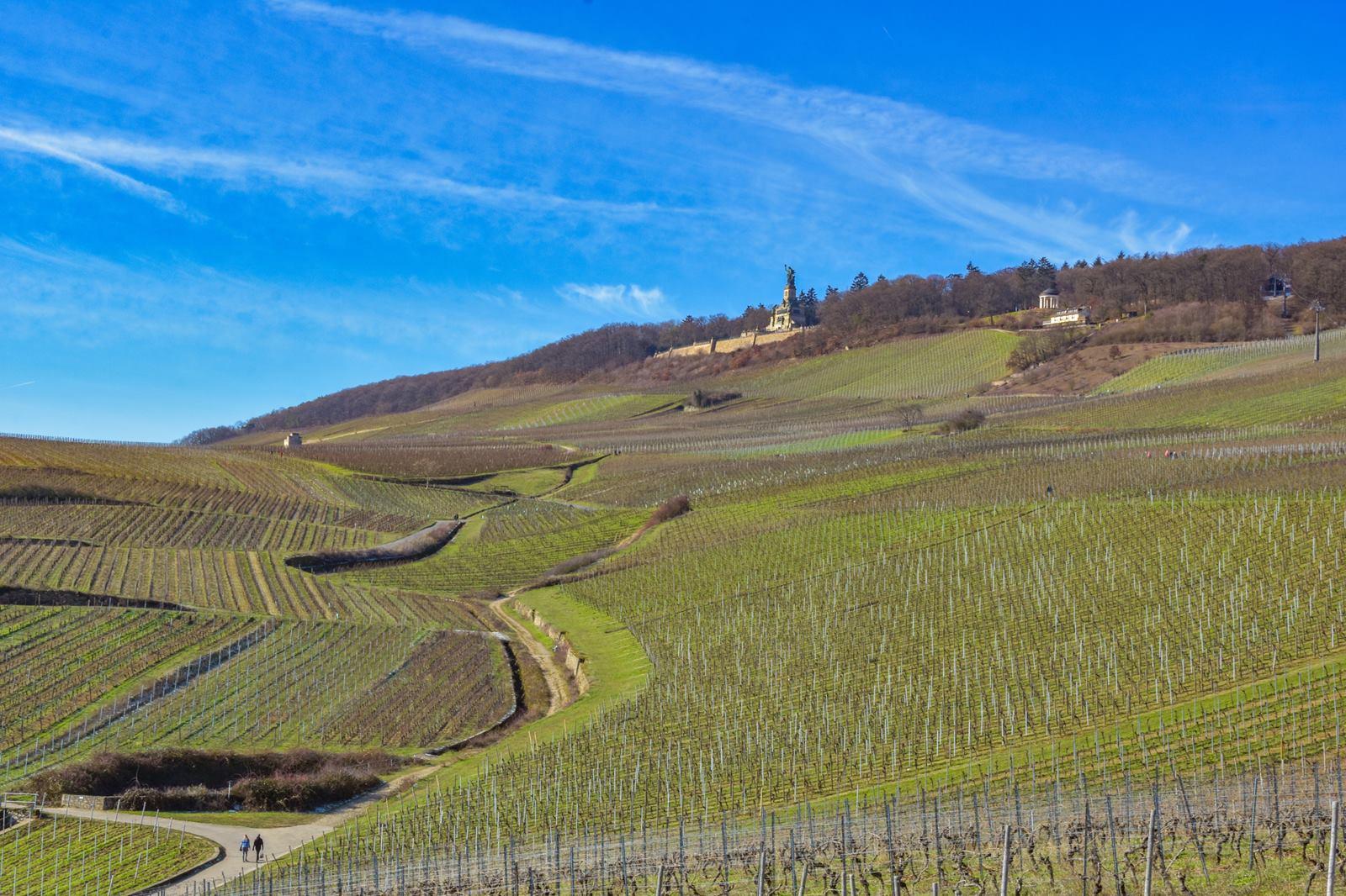 piękny Krajobraz Niemiec