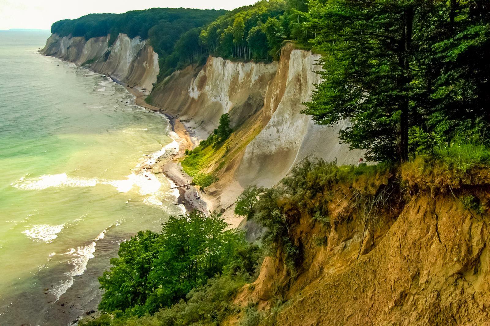 Wybrzeże kredowe w Rugii